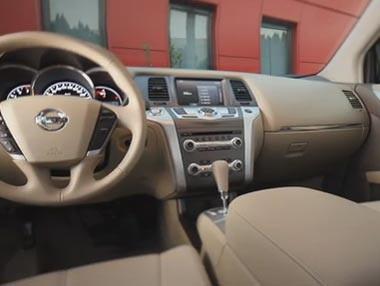 Nissan Murano 2012: interiores