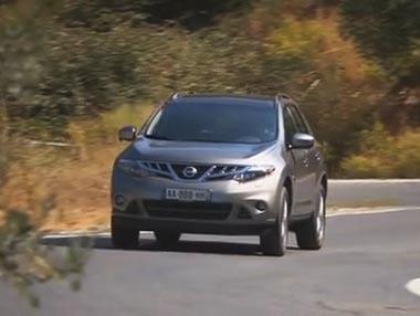 El Nissan Murano 2012, en movimiento