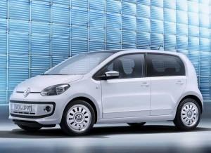 El perfil es lo único que cambia a nivel estético del Volkswagen Up! respecto a la versión de 3 puertas.