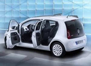 Volkswagen Up! 5 puertas, más espacio del que parece.