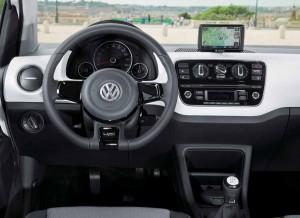 El interior del Volkswagen Up! de 5 puertas no difiere en nada respecto del de 3 puertas.