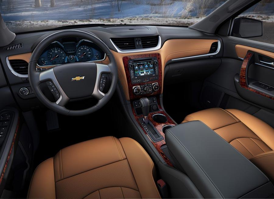 Chevrolet Traverse 2013: llega en Nueva York | Autocasion.