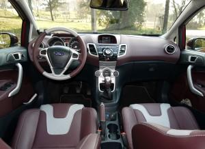 Ford Fiesta 1.6 TDCi tablier, Rubén Fidalgo