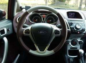 Ford Fiesta 1.6 TDCi volante, Rubén Fidalgo