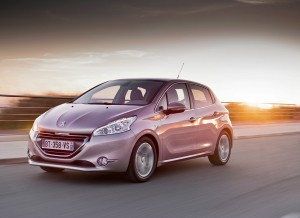 Peugeot 208, frontal