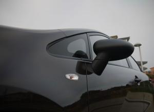 Kia Rio Concept 1.2 CVVT, retrovisores, Rubén Fidalgo