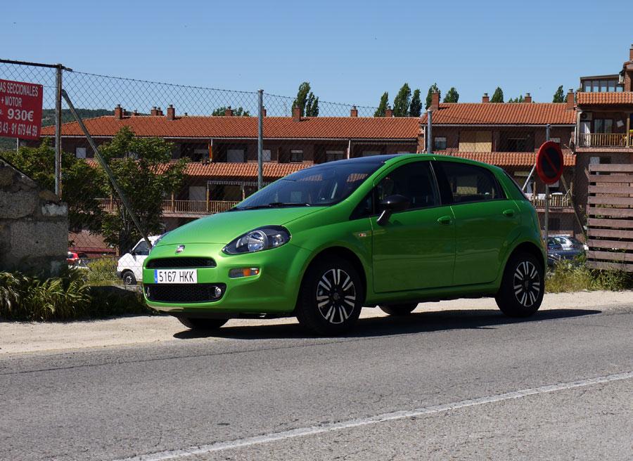 Nuevo Fiat Punto Twinair, Manzanares el Real, Rubén Fidalgo