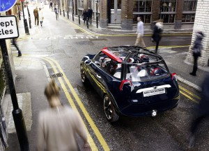Mini Rocketman Concept Londres 2012