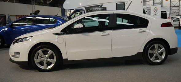 El Chevrolet Volt amplía 5 km su autonomía