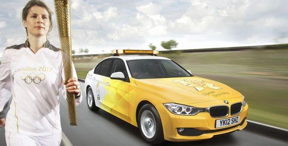 Los coches de BMW en los Juegos Olímpicos