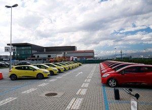 Prueba Nuevo Renault Clio TCE 90 CV 2012, Florencia, Rubén Fidalgo