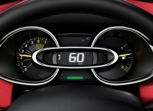 Detalle del cuadro de mandos del nuevo Renault Clio.
