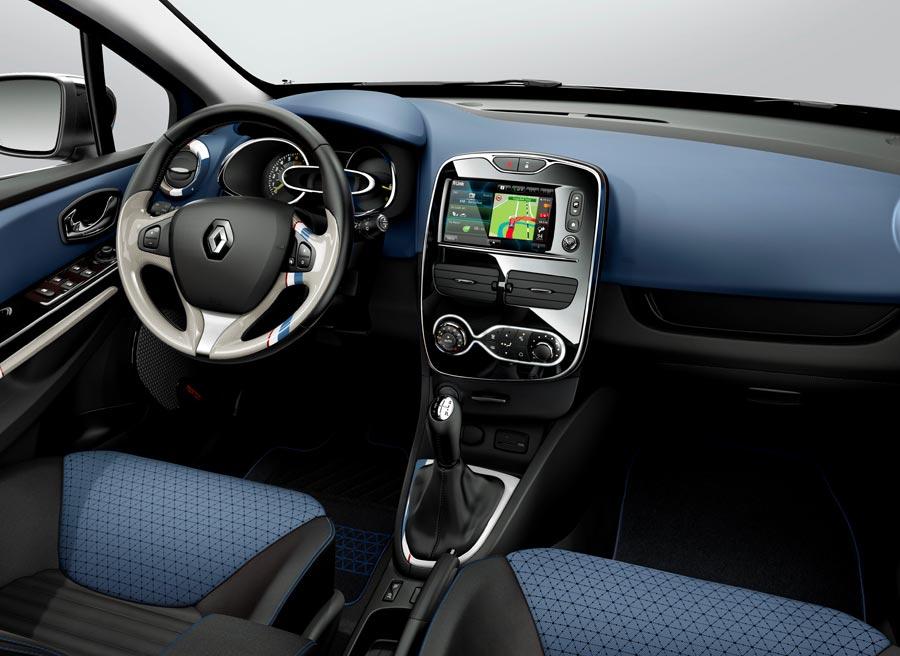 Interior del nuevo Renault Clio.