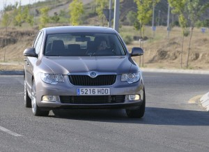 Skoda Superb, frontal