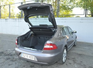 Skoda Superb, maletero