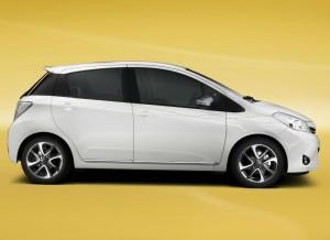 Las llantas del Toyota Yaris Trend son de nuevo diseño.