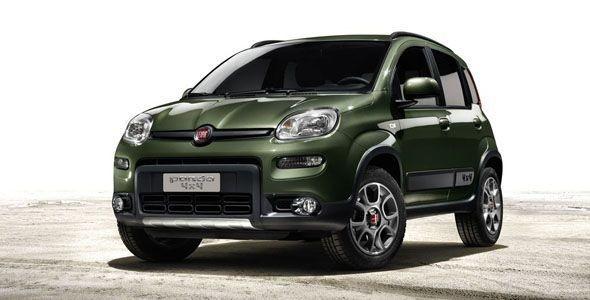 Fiat Panda 4×4, debut mundial en el Salón de París