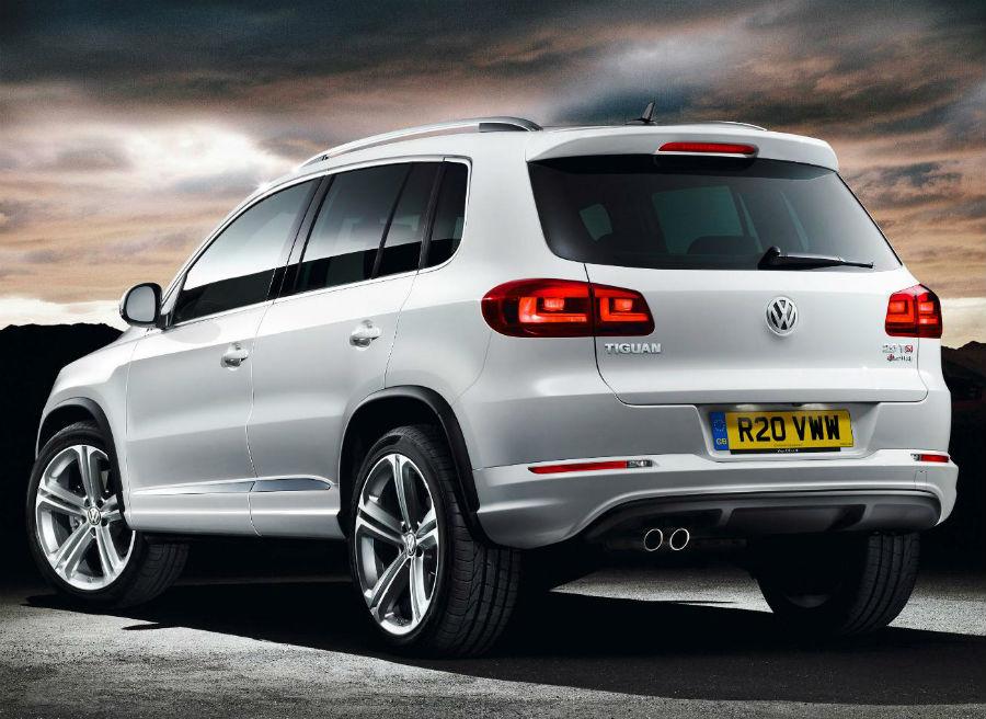 El nuevo Volkswagen Tiguan R-Line llegará al mercado en 2013.