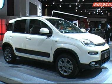 Salón de París 2012: Fiat Panda 4×4