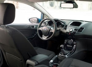 Ford Fiesta, interior