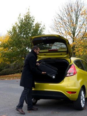 Ford Fiesta, maletero