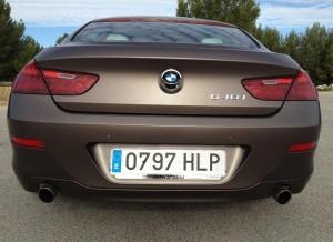 Zaga del BMW Serie 6 Gran Coupe.