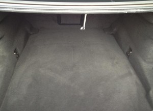 Profundo aunque con un acceso algo estrecho, así es el maletero del BMW Serie 6 Gran Coupé.
