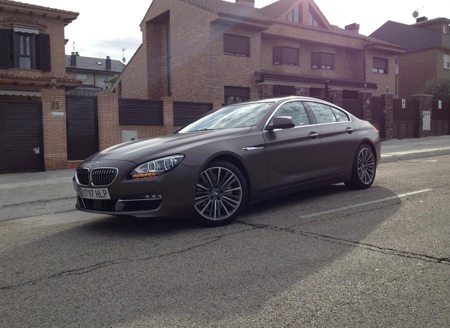 El BMW Serie 6 Gran Coupe es el coche perfecto para el