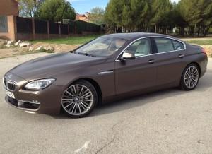 Musculoso y agresivo, así es el BMW Serie 6 Gran Coupé.