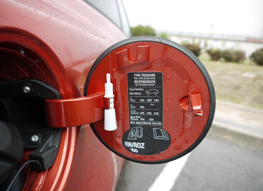 Que gasto de la gasolina para el mercedes de ml 320