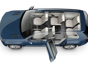 VW Cross Blue Detroit 2013