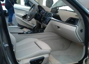 BMW Serie 3 Gran Turismo, habitáculo