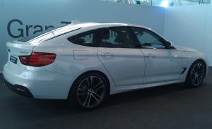 BMW Serie 3 Gran Turismo, lateral