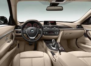 BMW Serie 3 Gran Turismo, salpicadero