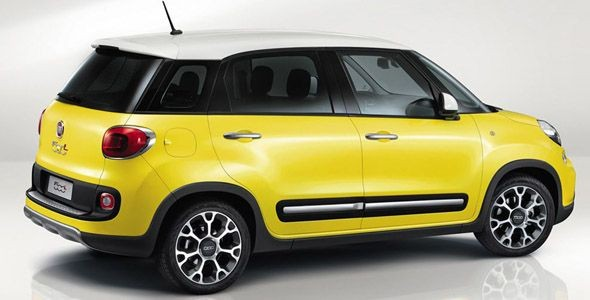 Fiat 500L Trekking, Fiat 500 GQ y Fiat Panda 4×4 concep, novedades en Ginebra