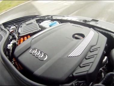 El Audi A6 Hybrid probado en vídeo
