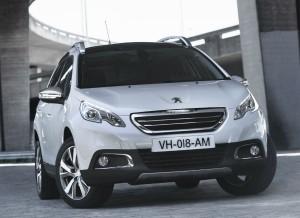 El frontal del Peugeot 2008 es probablemente su zona más característica.