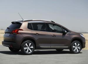 El Peugeot 2008 aumenta todas sus cotas respecto al 2008.