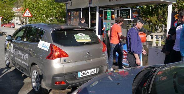 Participamos con el Peugeot 3008 Hybrid4 en el III Rally Ecológico de Galicia