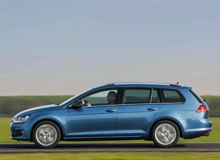 El nuevo VW Golf Variant es más largo y ligero que el anterior.