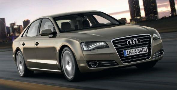 Nuevo Audi A8: faros Matrix LED, neumáticos Pirelli ultra-silenciosos