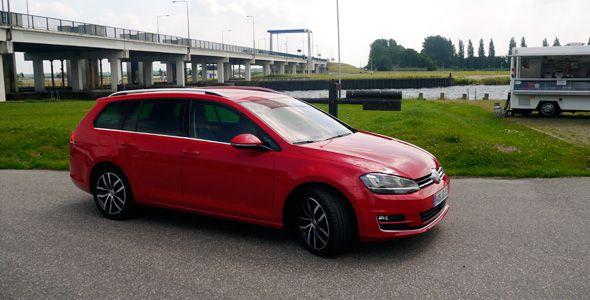 Nuevos Volkswagen Golf VII Variant y TDi Bluemotion 2013: presentación y prueba