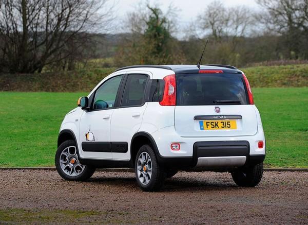 Fiat Panda 4x4 Antartica 2014