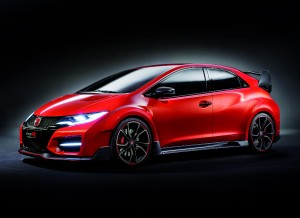 El Honda Civic Type R Concept se desvela en el Salón de Ginebra.