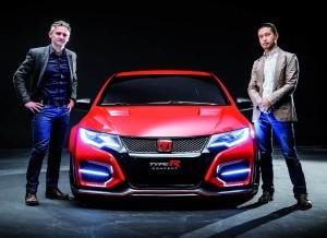 En Honda están orgullosos del nuevo Type R.