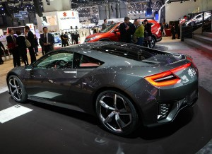 Honda desvela más detalles del NSX en Ginebra.