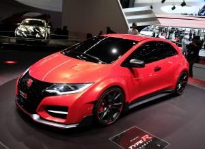 Honda Civic Type R Concept, uno de los grandes protagonistas del Salón de Ginebra.