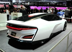 El Honda FCEV tiene su cuota de protagonismo en el Salón de Ginebra.