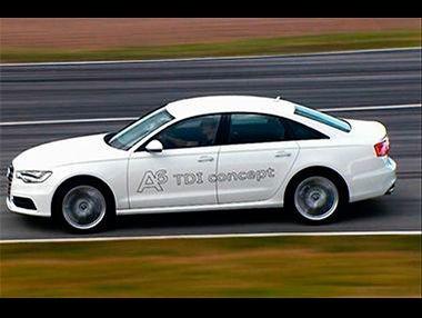 El Audi A6 TDi Concept 2014 en vídeo