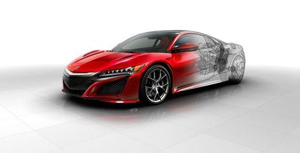Nuevos detalles técnicos del Honda NSX 2016